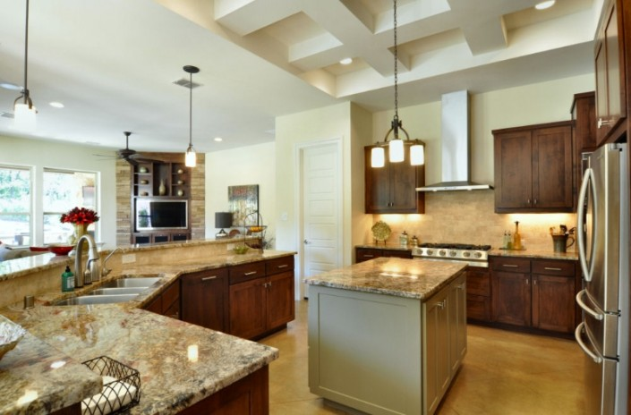 Kitchen Stone and Marble Sterling Brook Custom Homes