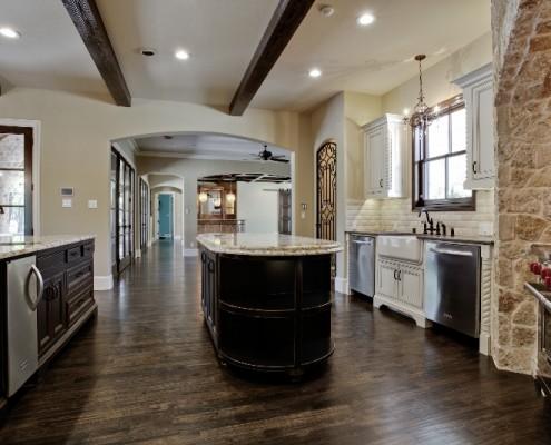 Kitchen Scenic Sterling Brook Custom Homes