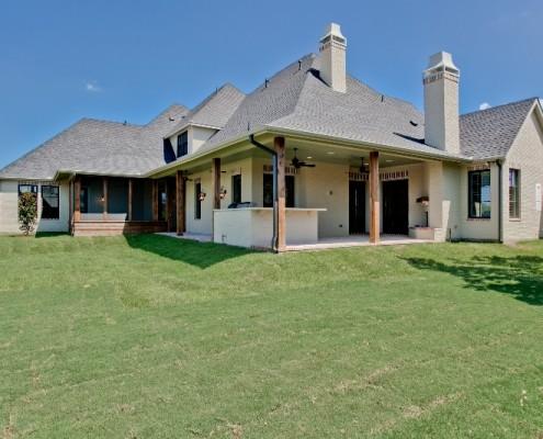 Rear Elevation Preston Sterling Brook Custom Homes