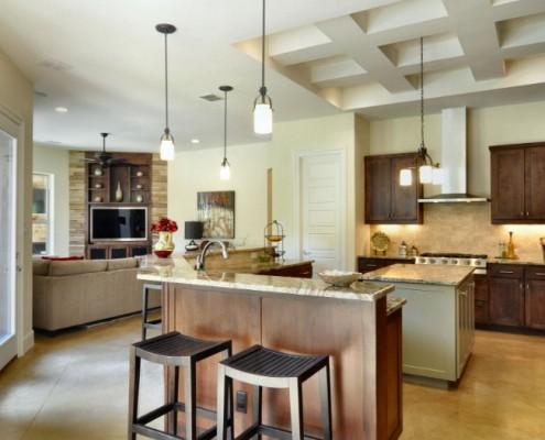 North Falls Full Kitchen Sterling Brook Custom Homes