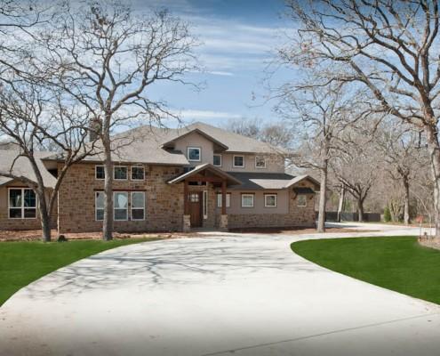 Frotn Elevation Post Oak Home Sterling Brook Custom Homes