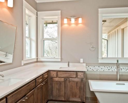 Master Bathroom Side Shot Post Oak