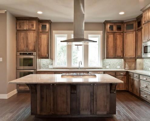 Kitchen Space Post Oak Sterling Brook Custom Homes