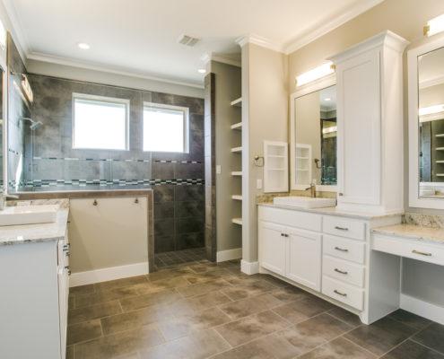 Highland Oaks Master Bathroom Sterling Brook Custom Homes
