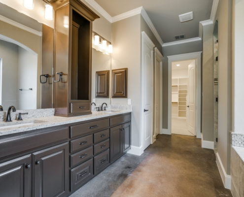 Wichita Master Bathroom Sterling Brook Custom Homes